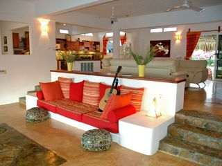 Huatulco villa photo - Spacious comfy designer interior