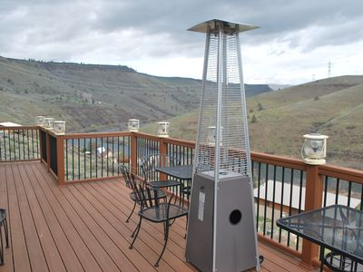 Maupin view house over the Deschutes river