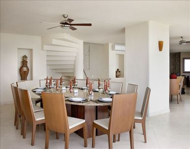 Air Conditioned Dining Room for 24 to 30