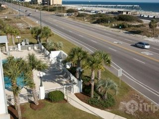 Orange Beach condo photo - View of pool from balcony