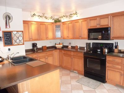 Seven Springs condo rental - Another view of custom kitchen.