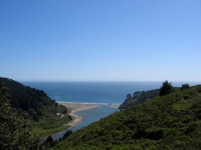Unending Views of the Pacific and the Mouth of the Navarro River