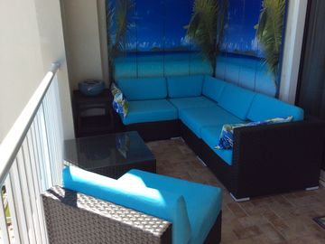 Orange Beach condo rental - Just finished final touches to balcony!! Enjoy!!!!