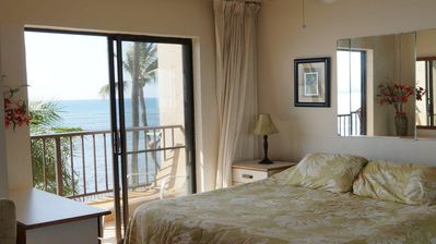 Wake To The Sound Of The Ocean From The Master Bedroom