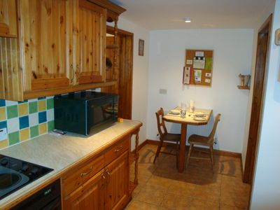 Chichester cottage rental - Dining area in Kitchen