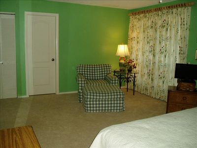 Sitting area in Master Bedroom Suite