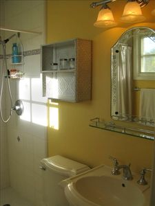 Master Bath with Shower for 2