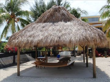 Tiki Hut Area by the Docks