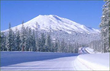 Mt Bachelor- a short 22 mile drive from Bend