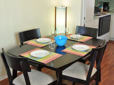Dining Table (with leaf available for larger groups)