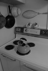 Sanibel Island cottage photo - Cool stove huh?