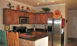 New Braunfels condo photo - Fiesta Kitchen Area with Brand New Stainless Steel Appliances
