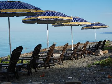 Lounge along our tranquil shoreline