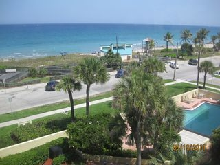Deerfield Beach condo photo - Beach, Court Yard and Pool View