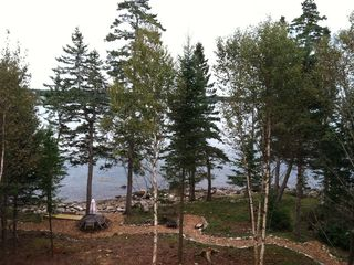 Mount Desert cottage photo - Kitchen view of Duck Cove and Blue Hill Bay