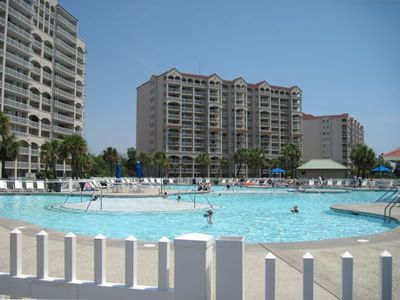 Pool at the North tower condos