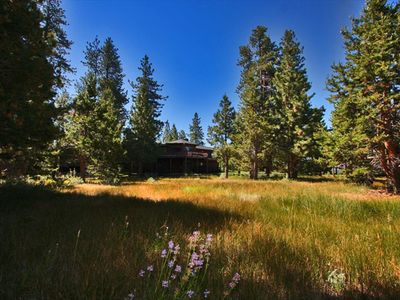 Al Tahoe estate rental - Looking at the Estate from the Lakefront