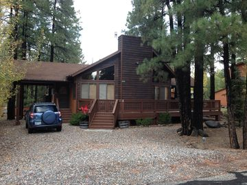 Munds Park cabin rental - Cozy Cabin in the woods