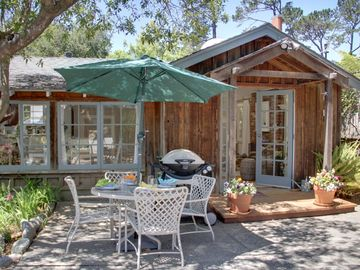 """Carmel house rental - Welcome to """"Seashell Cottage""""! Lovely vintage Carmel Cottage within easy walking distance to downtown gourmet restaurants and unique high-end stores."""