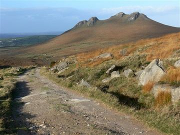 Walking in the Mourne Mountains