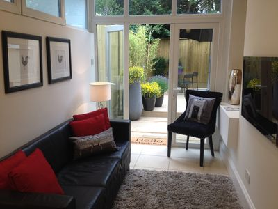 3 bedroom home with private garden in Central London