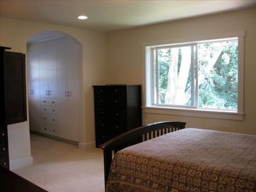 Master bedroom view / closet