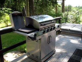 North Conway estate photo - Five burner Gas Grill (Spring through Fall)