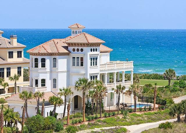 Hammock Beach Mansion 6 Bedrooms Ocean Vrbo
