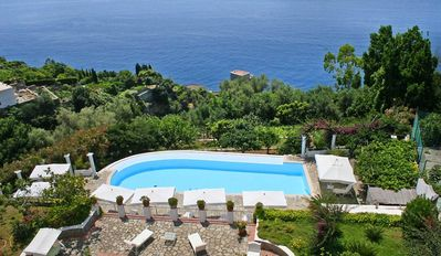 Luxury Villa, Private Pool, Praiano, Walking Distance To Town And Beach