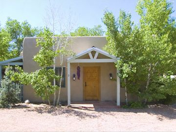 Santa Fe house rental - Enclosed gated compound with private parking