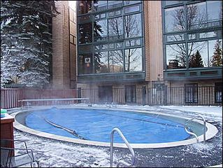 Aspen condo photo - Heated Pool