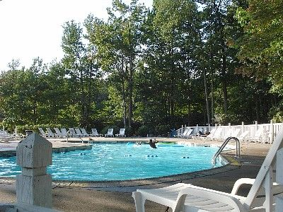 Lake Mountain Club In-ground Pool.