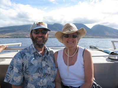 Come to Maui and enjoy whale and dolpin watching.  Lou & Patty