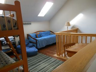 Bartlett townhome photo - Loft with trundle bed