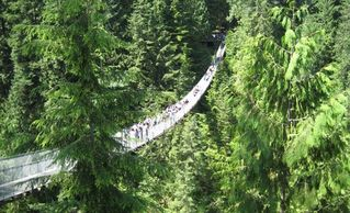 Vancouver apartment photo - The Famous Capilano Suspension Bridge Attraction is a 10 minute drive