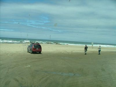 drive right onto beach for tide pools or surf
