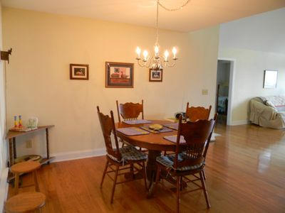 Hayesville cabin rental - Dining room