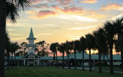 The PGA Clubhouse at Sunset
