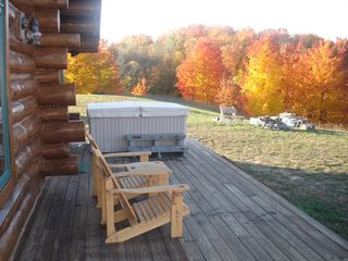 Bellaire / Shanty Creek cabin photo - Back Porch
