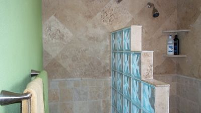 additional picture of master shower
