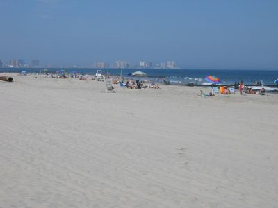 View of Atlantic City from our First Street beach (a 20 minute drive)