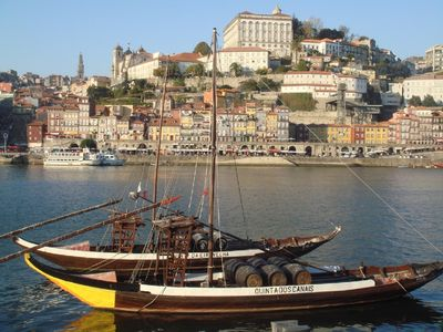 Vitoria apartment rental - View from Port Wine 'Caves' to Oporto UNESCO