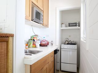 Governor's Harbour estate photo - Beach cottage kitchenette with ocean view