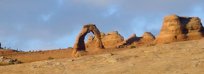 Delicate Arch from a different angle.