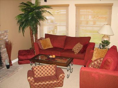 Anaheim house rental - Living Room