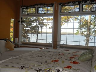 Allegan house photo - Master Suite with amazing view
