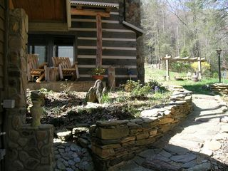 Boone cabin photo - Natural Landscaping