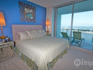 "Orange Beach condo photo - Master bedroom with king sized bed and 36"" TV/DVD"