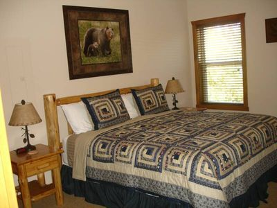 Lower Level - King Size Beds, Bathroom, TV, DVD Player and Cable