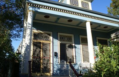 The Dryades House & Suite ~ Lovely, historic details abound inside & out!